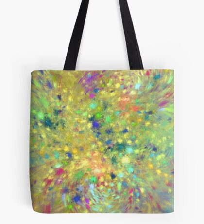 Spring #fractal art Tote Bag