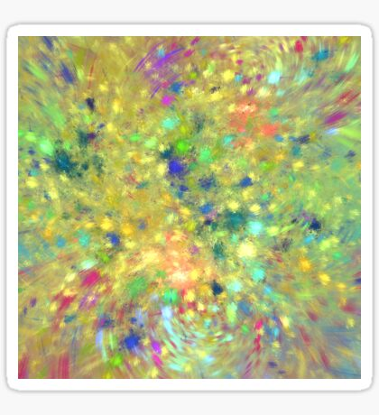 Spring #fractal art Sticker