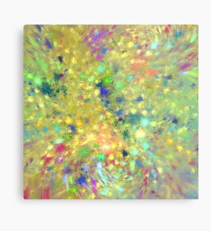Spring #fractal art Metal Print