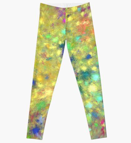 Spring #fractal art Leggings