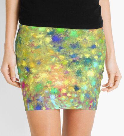 Spring #fractal art Mini Skirt