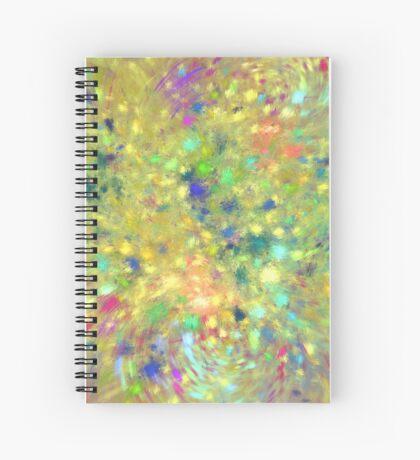 Spring #fractal art Spiral Notebook