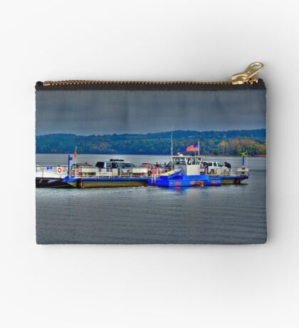Ferry On Lake Champlain Studio Pouch
