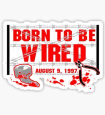 ECW Born To Be Wired 1997  Sticker