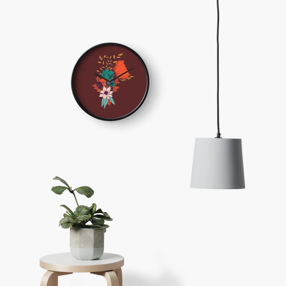 Botanisches Muster 010 Uhr