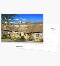 Congratulations on the Purchase of your new Home Postcards