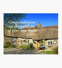 Congratulations on the Purchase of your new Home Photographic Print