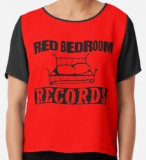 Red Bedroom Records, Peyton Sawyer Chiffon Top