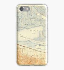 USGS TOPO Map California CA Honker Bay 296168 1918 31680 geo iPhone Case/Skin