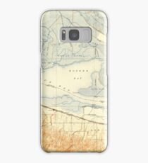 USGS TOPO Map California CA Honker Bay 296168 1918 31680 geo Samsung Galaxy Case/Skin