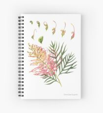Grevillea Superb Spiral Notebook