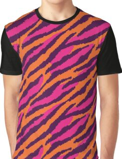 Wild Tiger Stripes Graphic T-Shirt