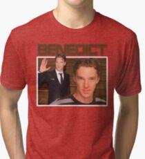 Benedict Cumberbatch 90s Tee Tri-blend T-Shirt