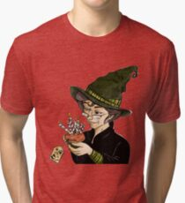 McGonagall's Birthday in Colour Tri-blend T-Shirt