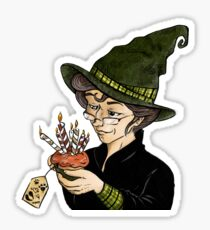 McGonagall's Birthday in Colour Sticker