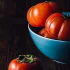 Persimmons Still Life by Sevablsv