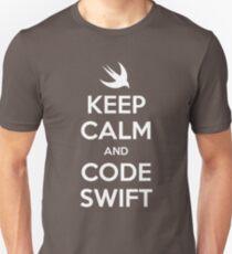 Keep calm and code swift T-Shirt