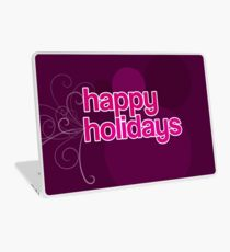 Happy Holidays Laptop Folie