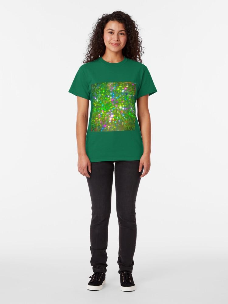 Alternate view of Summer #fractal art Classic T-Shirt