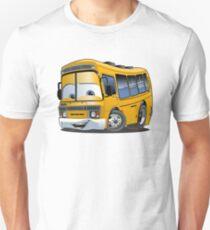 Cartoon School Bus Unisex T-Shirt