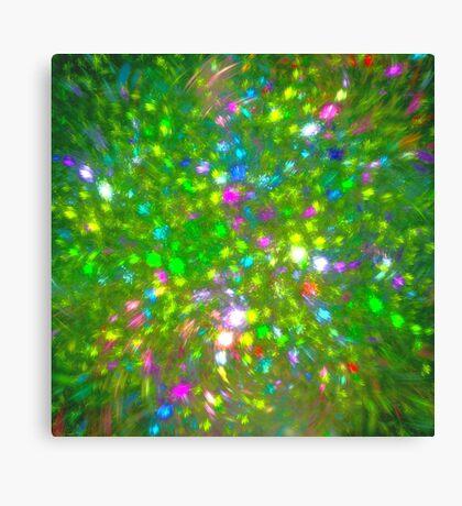 Summer #fractal art Canvas Print