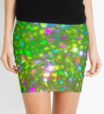 Summer #fractal art Mini Skirt