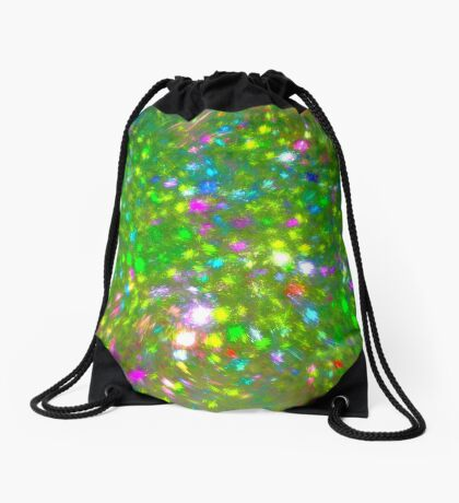 Summer #fractal art Drawstring Bag