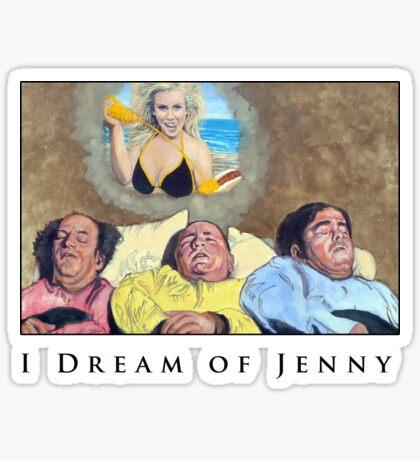 I Dream Of Jenny Sticker