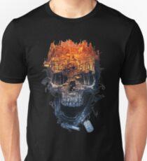 Camiseta ajustada campo de batalla