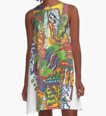 Sea A-Line Dress