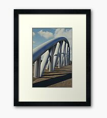 Bridge Structure Framed Print