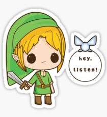 Chibi Link - The legend of Zelda Sticker