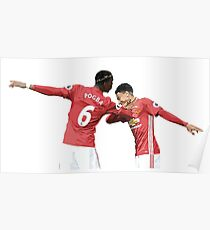 c17899b9131ac Manchester United Posters   Redbubble