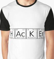 Hacker chemical formula Graphic T-Shirt