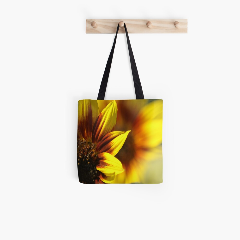Colors of The Sunflower Tote Bag