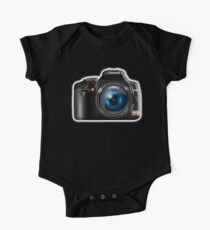 Camera, DSLR, Photography One Piece - Short Sleeve