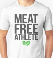 Meat free athlete Unisex T-Shirt