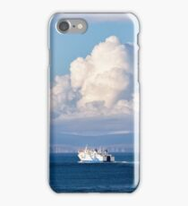 Hamnavoe crossing the Pentland Firth iPhone Case/Skin