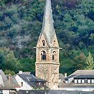 Church along The Rhine by Imagery