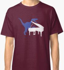 Velociraptor Playing Piano Classic T-Shirt