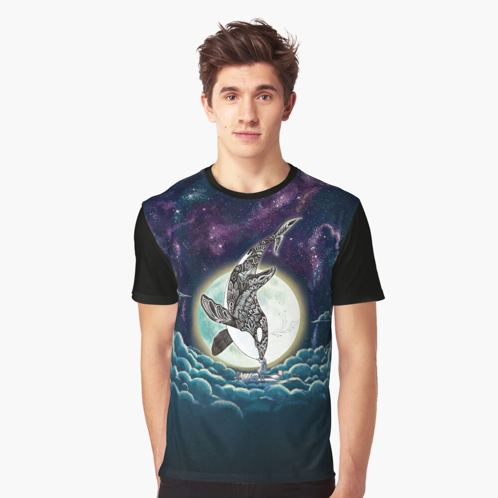 Kiss Good Night - Orca III Graphic T-Shirt