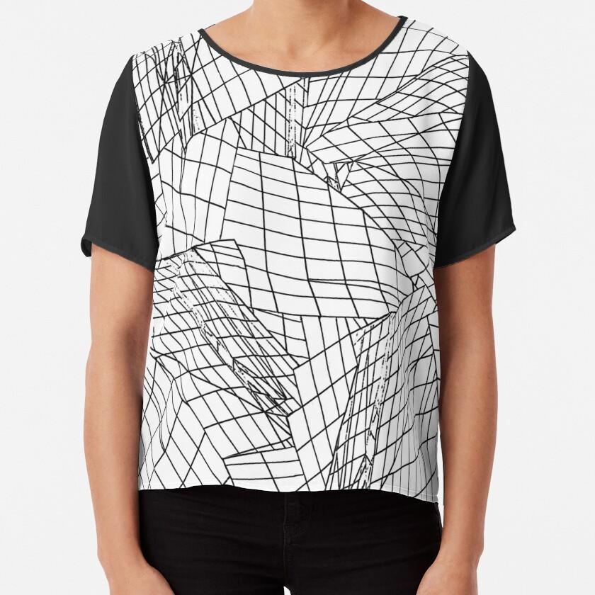 Angles- White Chiffon Top