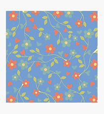 Flower Floral Patterns Colorful  Photographic Print