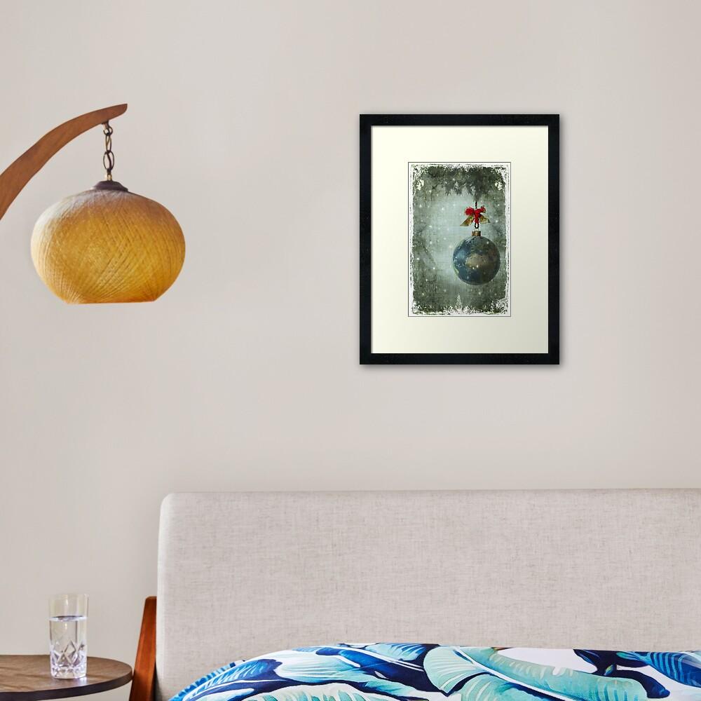 Peace on earth... Framed Art Print