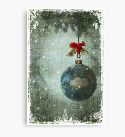 Peace on earth... Canvas Print