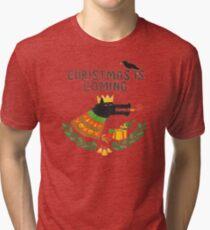 Game of Thrones Christmas, Juego de Tronos Navidad Tri-blend T-Shirt
