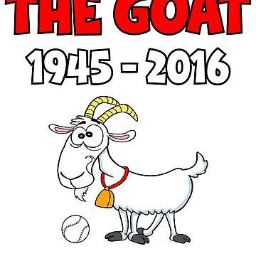 Chicago Baseball Goat Curse by BuzzArtGraphics