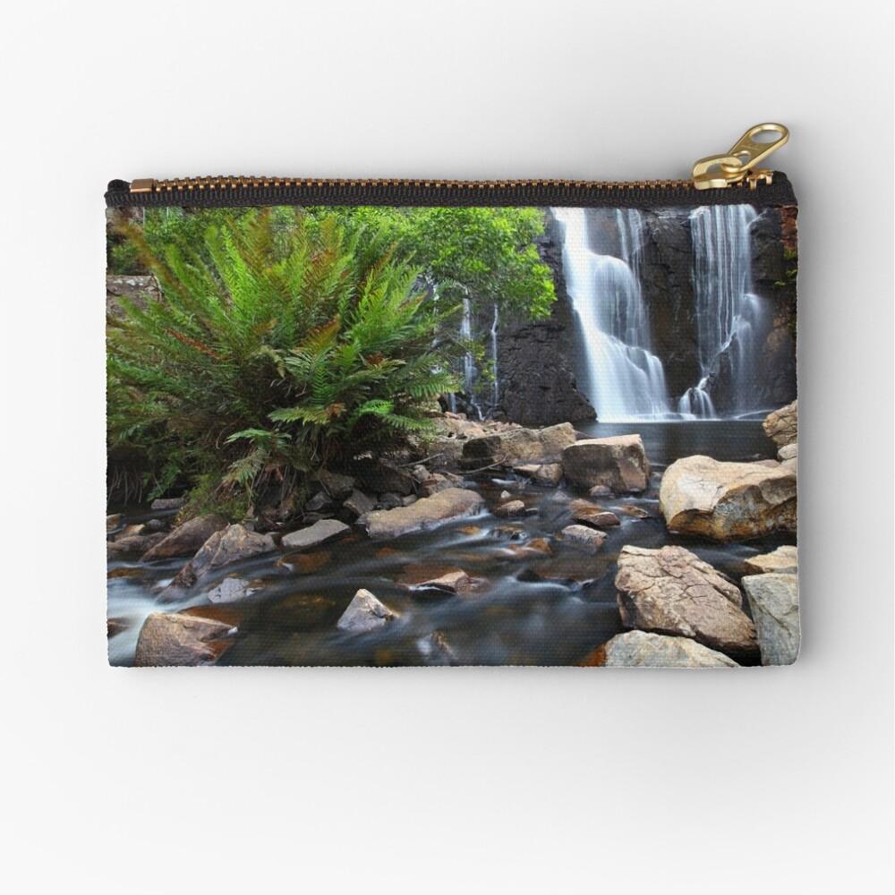 Mc Kenzie Falls, Grampians, Australia Zipper Pouch