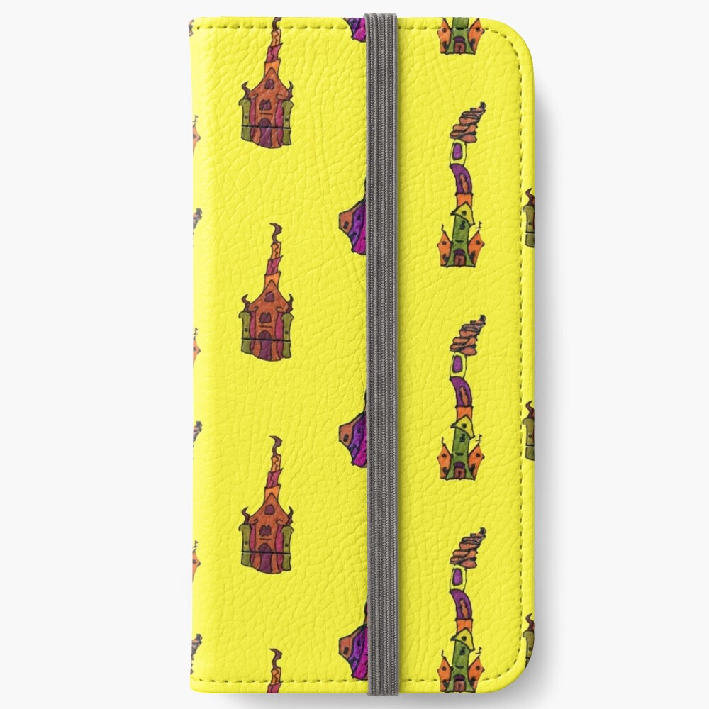 FUN CATHEDRAL ART iPhone Wallet