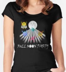 Full Moon Party Women's Fitted Scoop T-Shirt